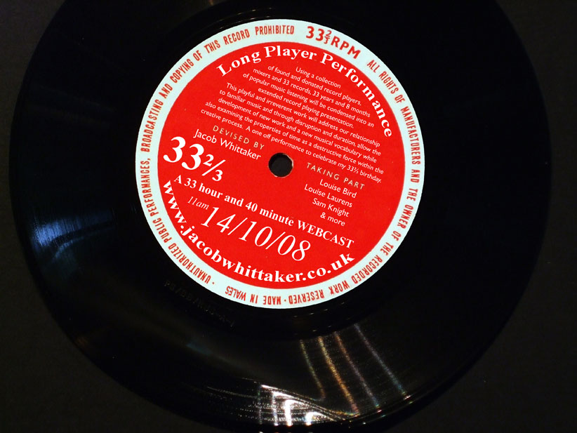 33 2/3 - Graphic from a Russian Pronunciation Flexidisc
